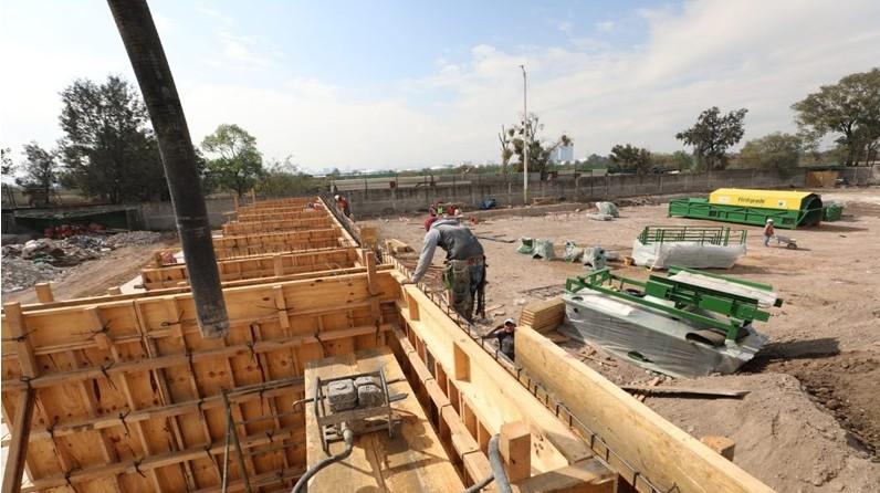 Desarrolla AMH primer planta de reciclaje de residuos de construcción