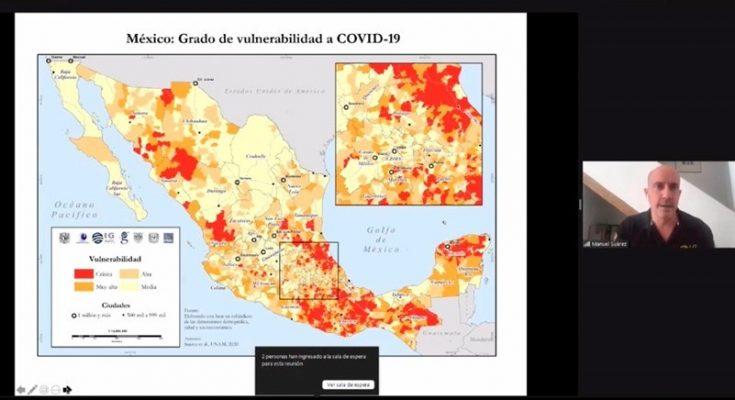 Desarrolla UNAM atlas de vulnerabilidad urbana ante Covid-19
