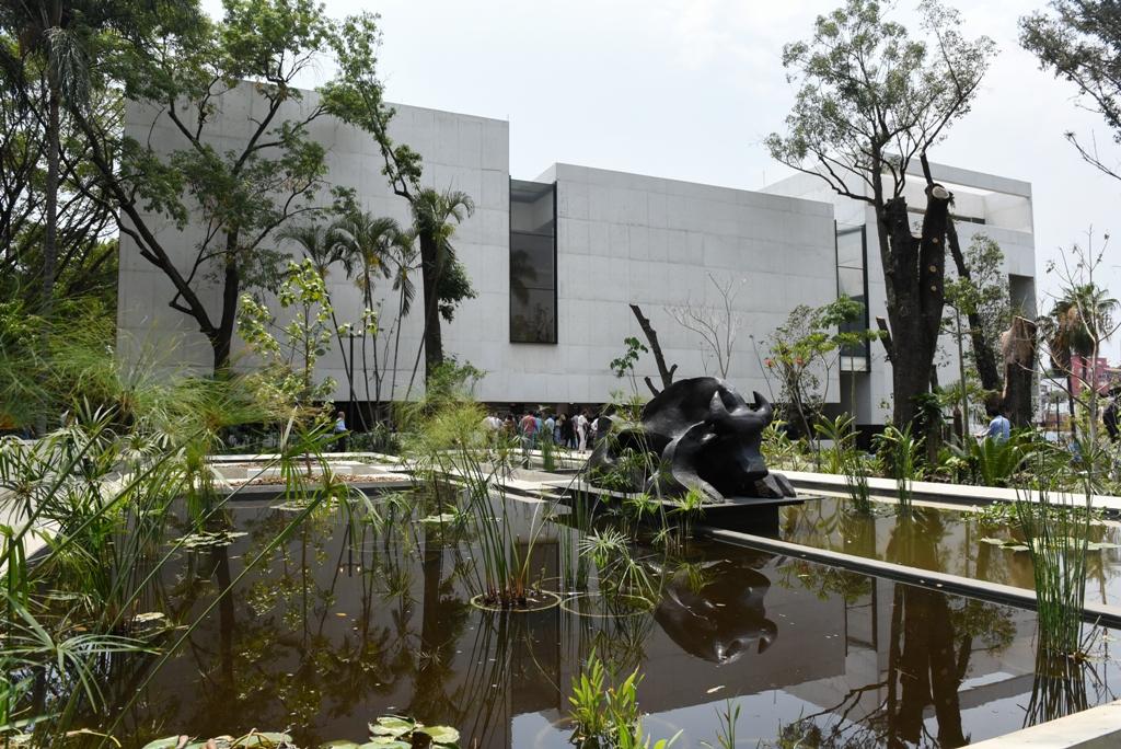 Destaca arquitectura del Museo Morelense de Arte Contemporáneo