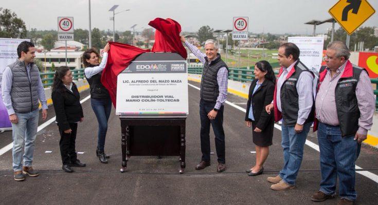 Edomex invierte más de 3,000 mdp en vialidades