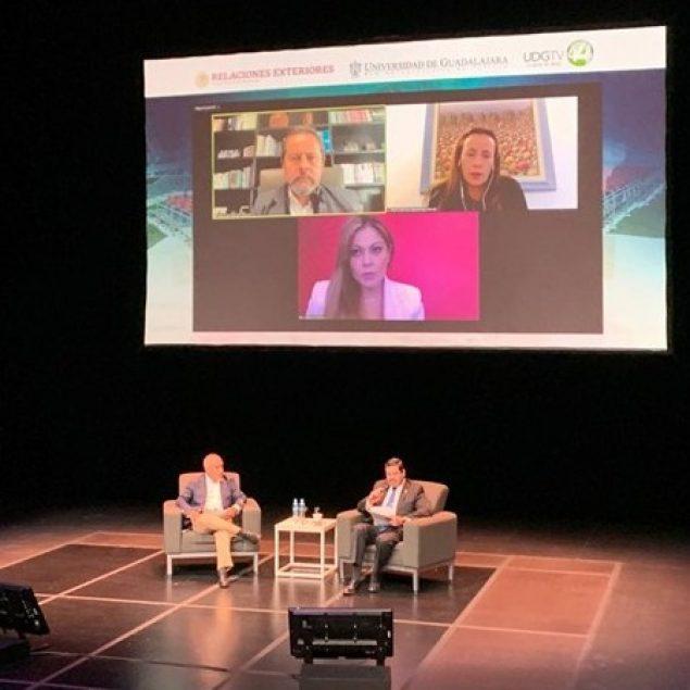 Dialogan sobre el desarrollo urbano sustentable durante el FUZ2021