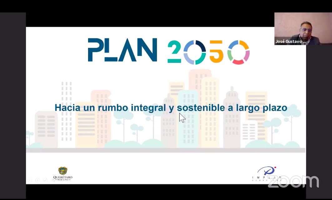 Diálogos con IMPLAN Querétaro-Plan 2050-CU Home