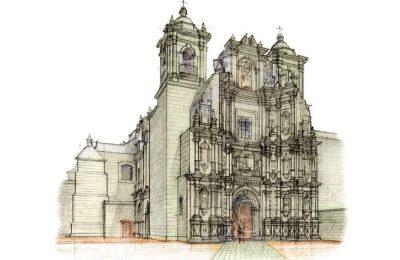 Dibujo, instrumento para preservar arquitectura patrimonial