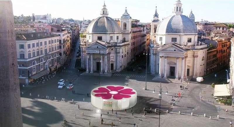 Diseñan pabellones para estaciones de vacunación Covid-19 en Italia