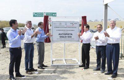 Autopista Siglo XXI mejorará conectividad de Morelos: EPN