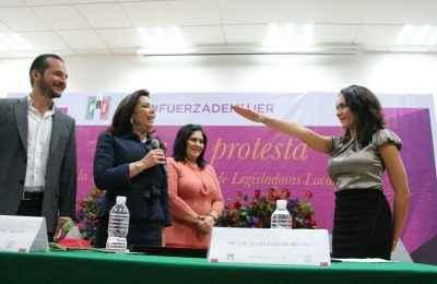 Dunia Ludlow, nueva coordinadora de las legisladoras locales del PRI