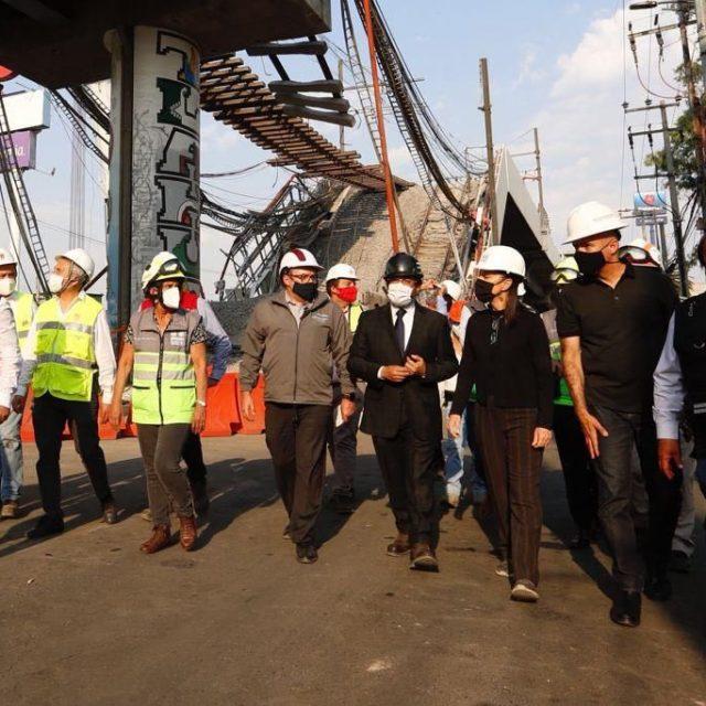 Presentan plan para rehabilitar tramo elevado de la Línea 12 del Metro