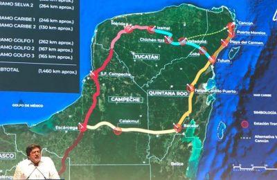 Se proyecta una inversión de 80,000 mdp en 2020 para el Tren Maya
