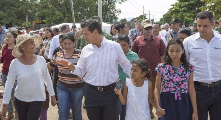 Invertirán 7 mmdp para reconstruir viviendas en Chiapas y Oaxaca