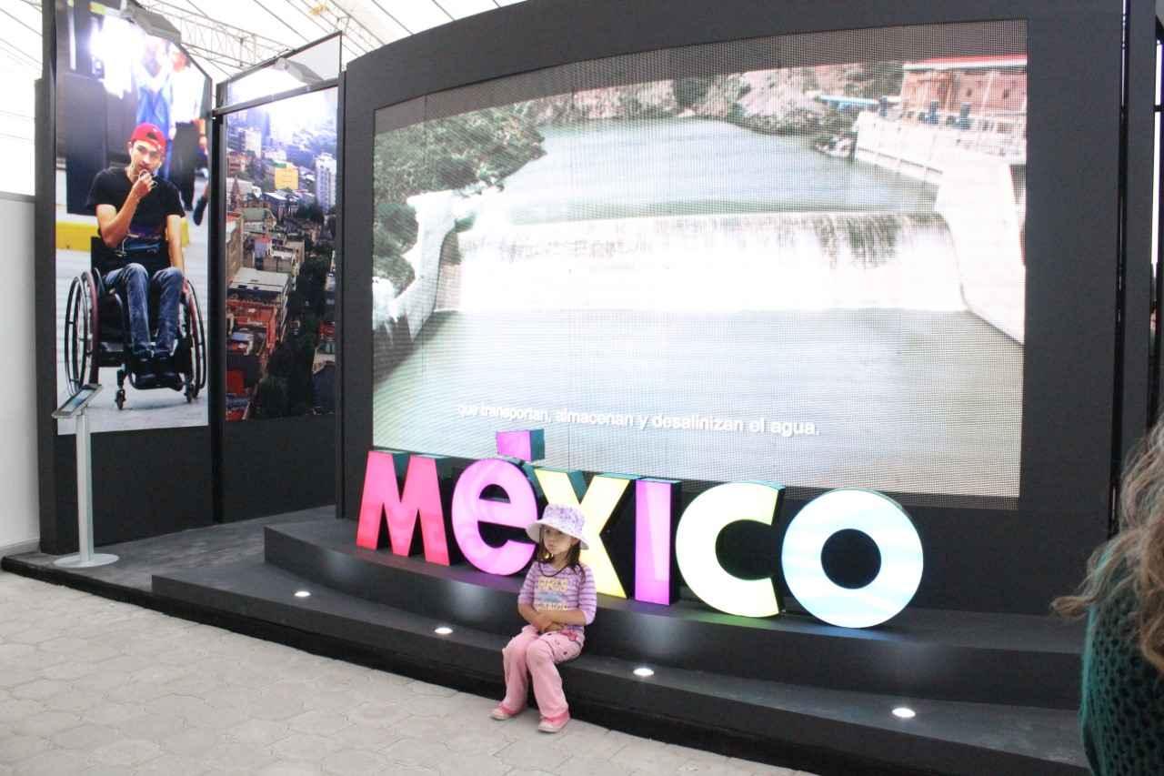 Dona México materiales utilizados en Expo Habitat III
