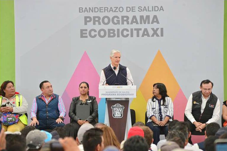 Programa Ecobicitaxi inicia operaciones en el Estado de México
