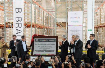 Inauguran CEDIS logístico de empresa alemana en Edomex