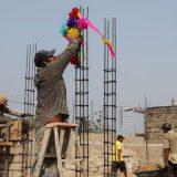 El Día de la Santa Cruz reconoce a los trabajadores de la construcción