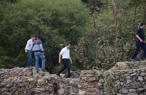 El gobernador de Querétaro visitó la zona afectada