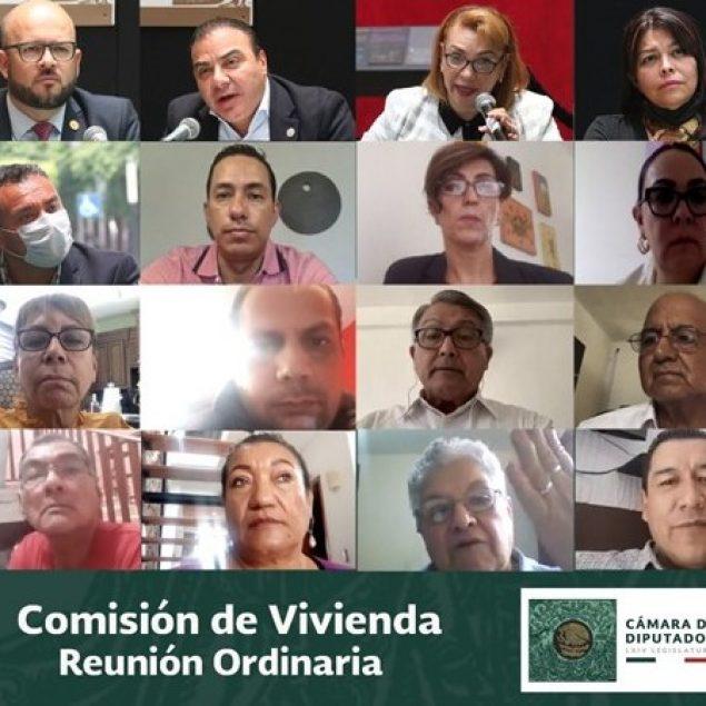 Emite Comisión de Vivienda 70 dictámenes durante trabajos legislativos