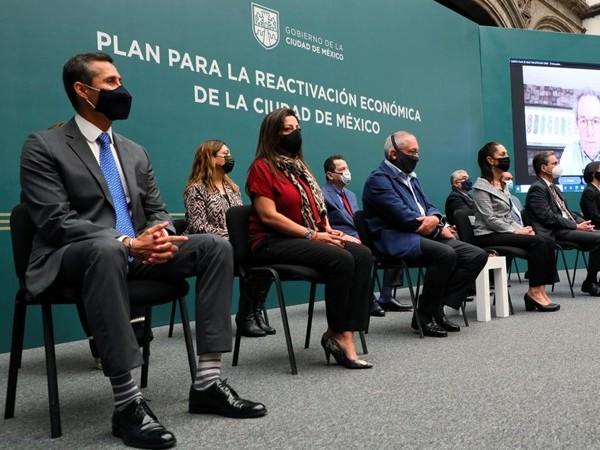 Empresarios participan en Plan de Reactivación Económica de la CDMX