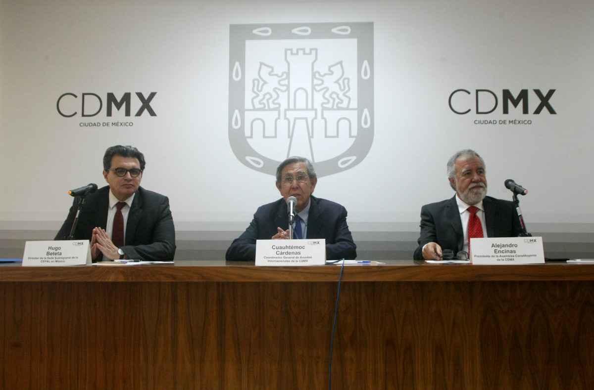 Realizan encuentro internacional sobre Constitución CDMX