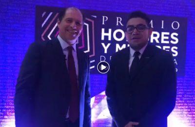Enrique Margain Pitman, ganador del Premio HyM 2019