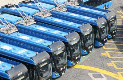 Entran en operación 40 nuevas unidades del Trolebús