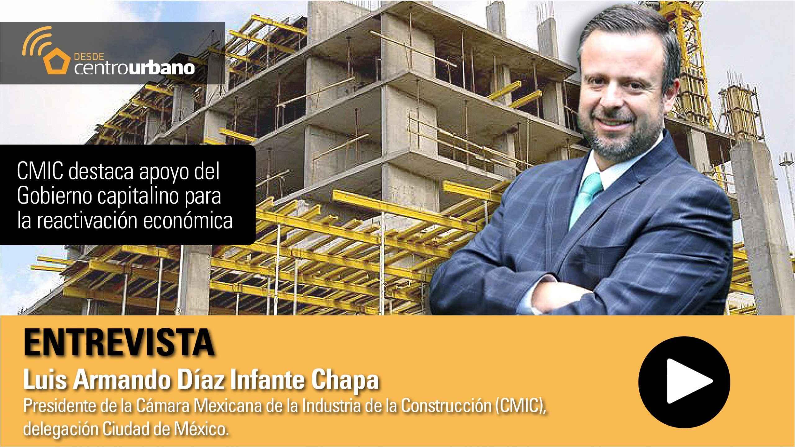 CMIC destaca apoyo del Gobierno capitalino
