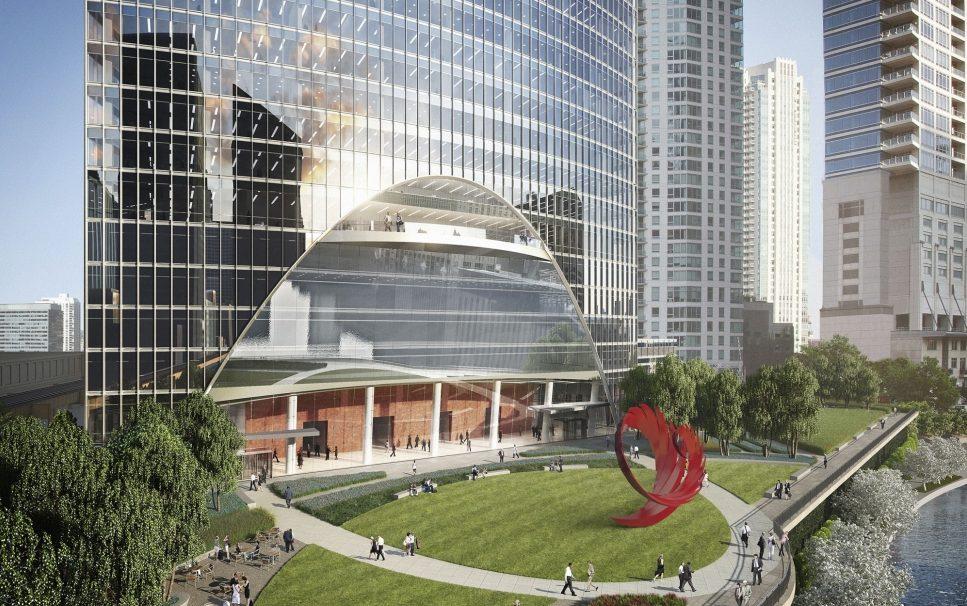 Santiago Calatrava creará escultura en el River Point de Chicago