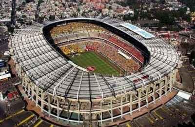 Estadio Azteca, emblemático ícono de la arquitectura mexicana