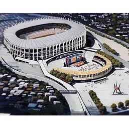 50 años del Estadio Azteca, una obra de Pedro Ramírez Vázquez