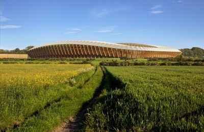 Así será el estadio ecológico diseñado para Forest Green Rovers