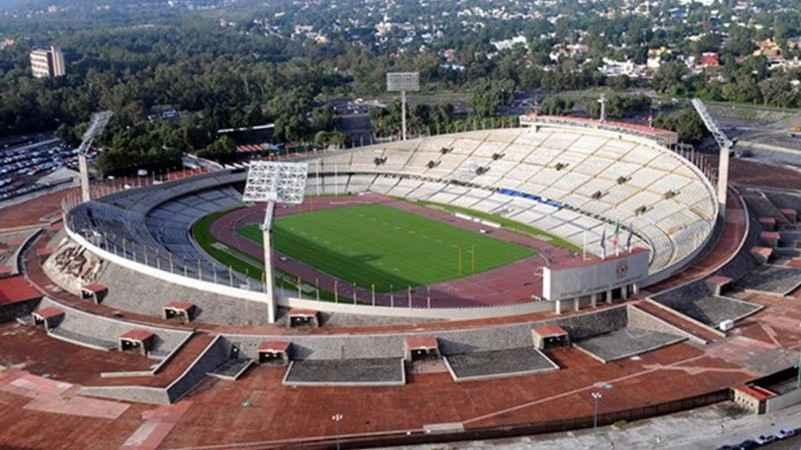 Estadio de CU celebra 70 años de la colocación de su primera piedra