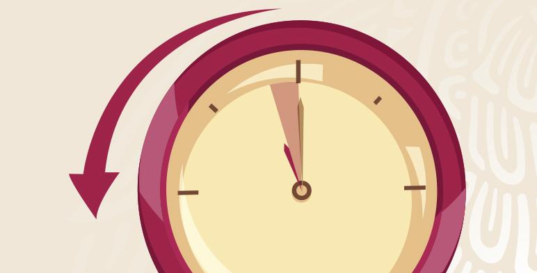 Este 27 de octubre llega a su fin el horario de verano 2