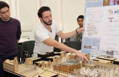 Estudiantes de la Ibero proponen mejoras arquitectónicas a centro comunitario