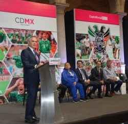 Ex jugadores profesionales de México y Alemania se reunirán en el Zócalo de la CDMX