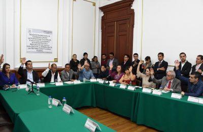 Aprueban en comisiones extinción de dominio por corrupción en CDMX