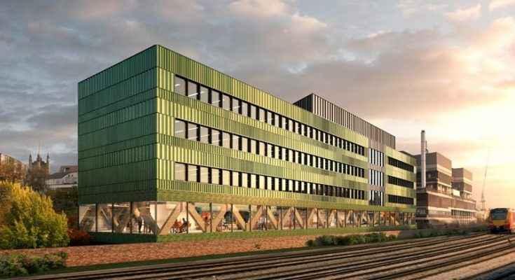 FCBStudios diseña edificio de oficinas sustentable en Londres