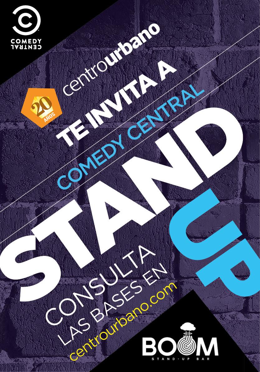 Centro Urbano te invita a disfrutar de 'Stand Up Comedy'