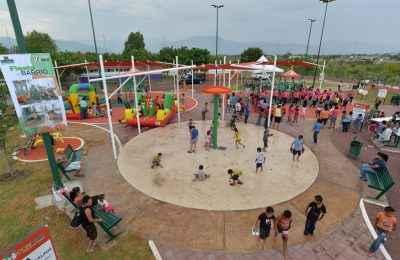 Construyen 62 parques en Tamaulipas