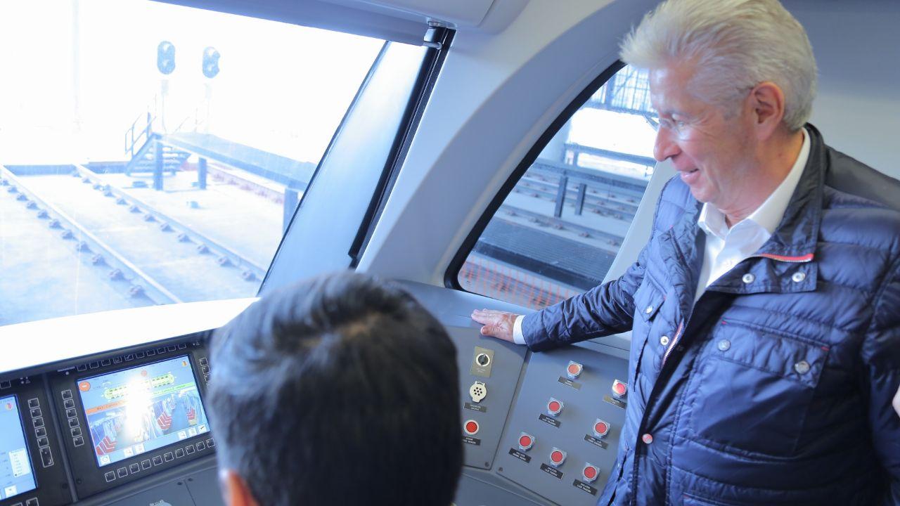 Presentan nuevo avances la Línea 3 del Tren Ligero