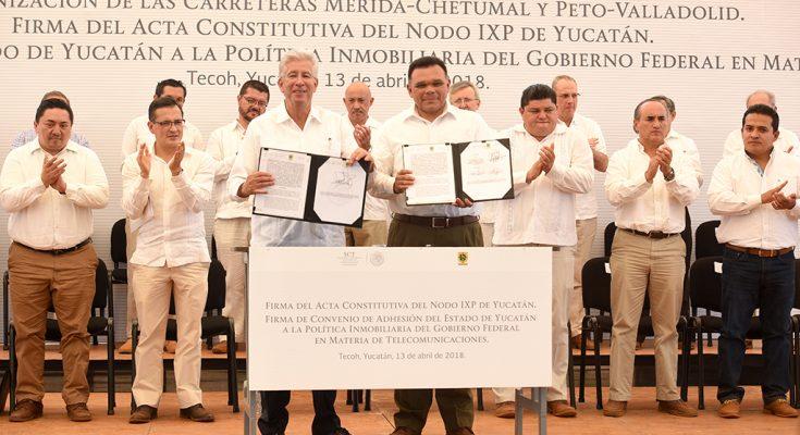 Mejorar infraestructura para que internet llegue a más mexicanos: SCT