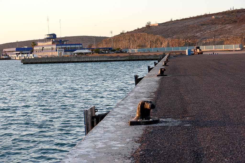 Supervisan obras del puerto Pichilingue, en Baja California Sur