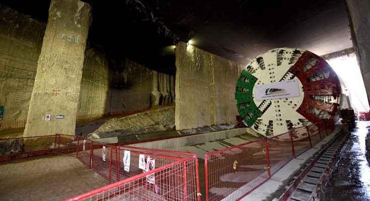 Inició perforación del túnel para Tren Ligero de Guadalajara