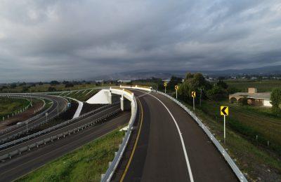 Destaca SCT obras de infraestructura carretera en Michoacán