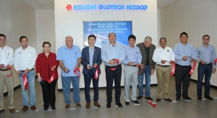 Abrieron planta de Kolon Glotech en Saltillo
