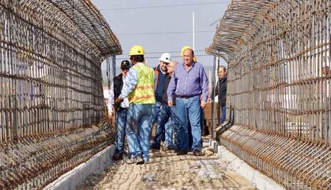 Coahuila eleva competitividad con la construcción de diversos puentes