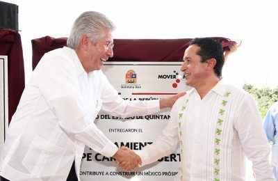 SCT entrega obras de infraestructura en Quintana Roo