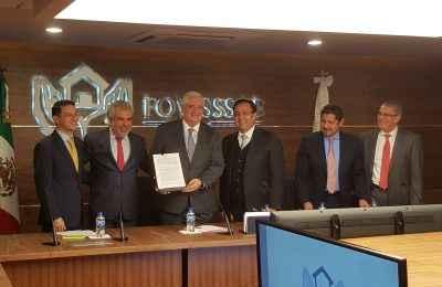 Firma Fovissste y RUV convenio de colaboración