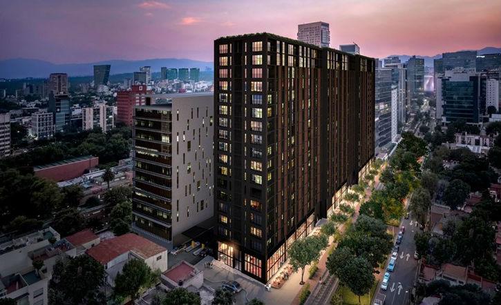 Fachada de edifico reducirá contaminación atmosférica en CDMX