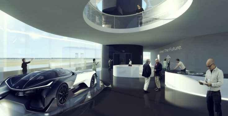 MAD Architects revela diseño del nuevo campus Faraday Future