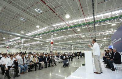 Faurecia abrió su segunda planta en Guanajuato