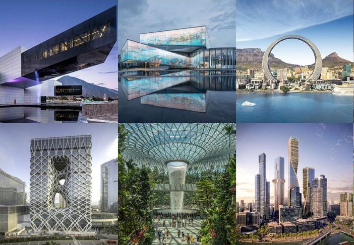Festival Mundial de Arquitectura 2019 anuncia proyectos preseleccionados