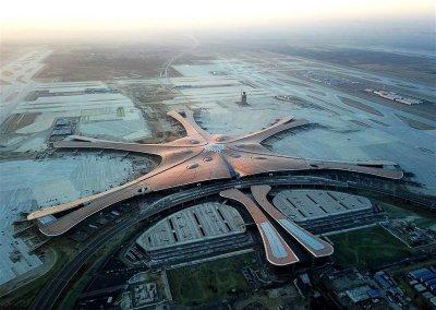 Finalizan construcción de aeropuerto más grande del mundo